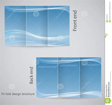 tri fold brochure templates free download best agenda