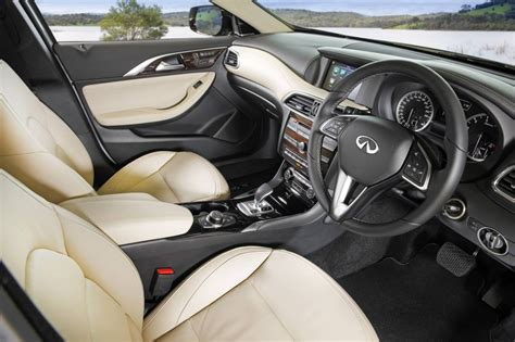infiniti qx30 interior infiniti qx30 now on sale in australia from 48 900