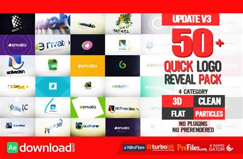 videohive free template logo reveal pack videohive project free