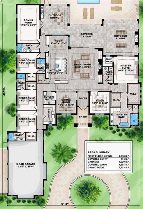 luxury ranch house plans for entertaining ultra modern house floor plans contemporary single level