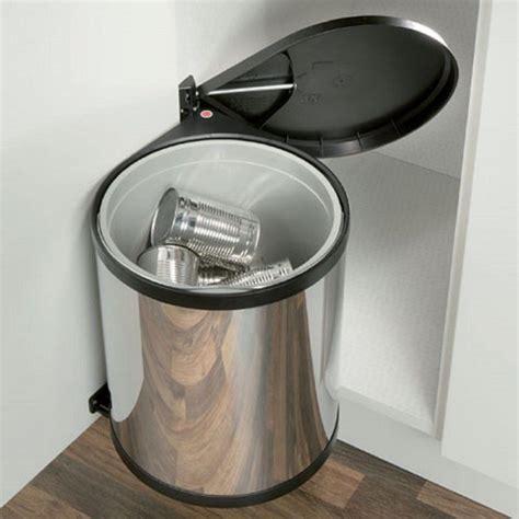 polished stainless steel kitchen  sink waste bin