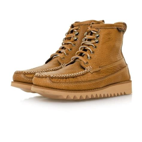 S W A T Rangers Brown bass weejuns ranger moc ii mid brown boot