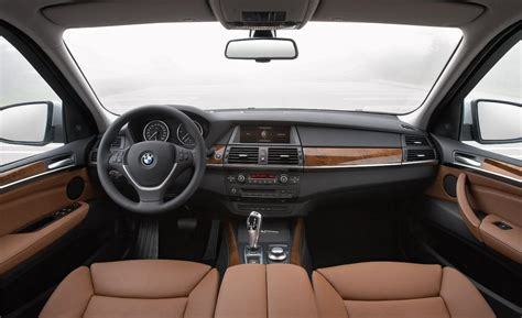 bmw x5 inside car and driver