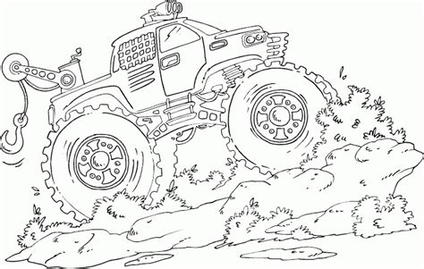 christmas truck coloring page monster truck coloring pages coloring pages to print