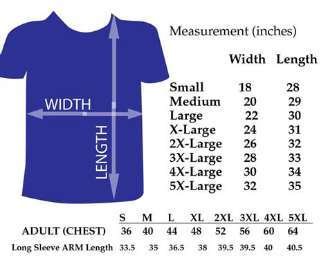 Who Is He Big Size Tshirt us t shirt size chart western heritage company t shirt size chart ayucar