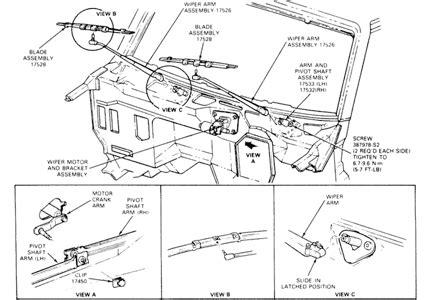 solved windshield wiper moter      change