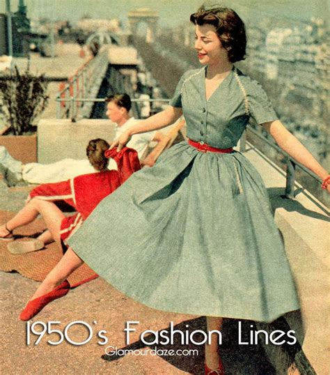 1950 s wardrobe the correct fashion line for you