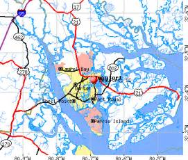 popular images beaufort sc map