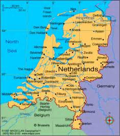 map of netherlands nederland cities pictures