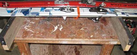 diy ski wax bench ski waxing and tuning bench