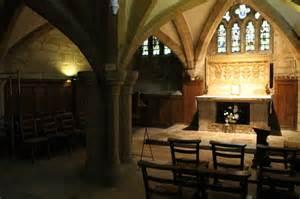 crypt  medieval altar st wulframs  jhannan