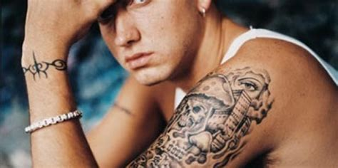 eminem tribal tattoo 15 best eminem designs and meanings styles at