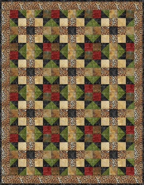 safari quilt pattern bs2 306 advanced beginner