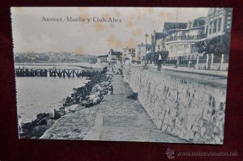 antigua postal de barakaldo vizcaya chalets comprar antigua postal getxo vizcaya arenas muelle y comprar