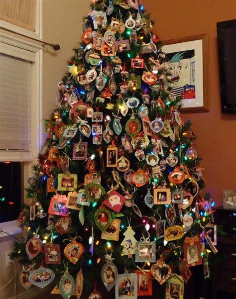 photo memory christmas tree every year each member of