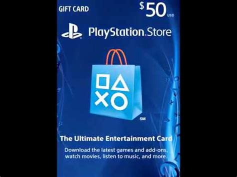 Gift Card For Ps4 - get a 10 playstation store gift card ps3 ps4 ps vita digital new youtube