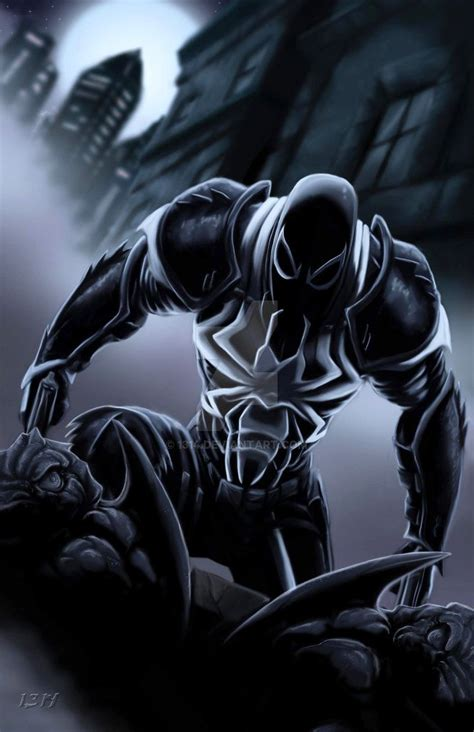 Almost Venom venom agente venom marvel comics
