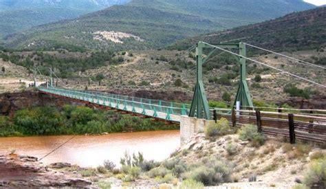 swinging bridge utah bridgemeister browns park swinging bridge