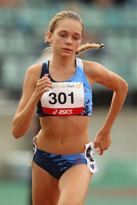junior high girls athletics anna laman photos australian junior athletics