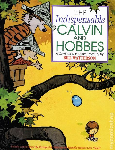 comic books in calvin and hobbes collection