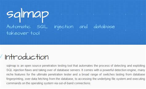tutorial sqlmap di kali linux hacking website with sqlmap in kali linux kali linux