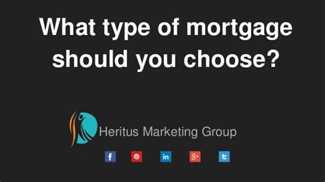 Why You Choose Mba In Marketing by What Type Of Mortgage Should You Choose