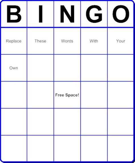 pin by jen butz honn on just for - Make Your Own Bingo Cards With Words
