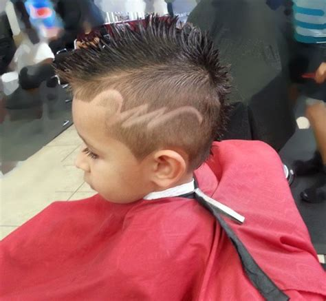 kids boys haircut shaved sides 20 awesome and edgy mohawks for kids