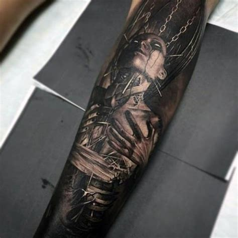 eyeball tattoo real visual destruction video 81 indescribale forearm tattoos you wish you had