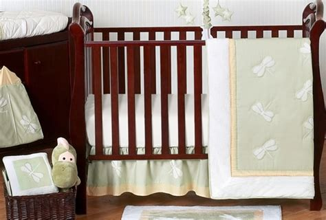 Dragonfly Crib Bedding Dragonfly Dreams Green Baby Bedding 11pc Crib Set Only