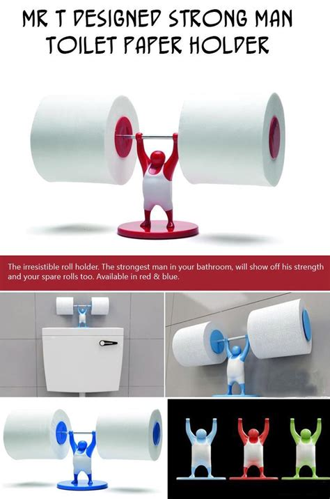 strong man toilet paper holder top ten creative product designs of the week