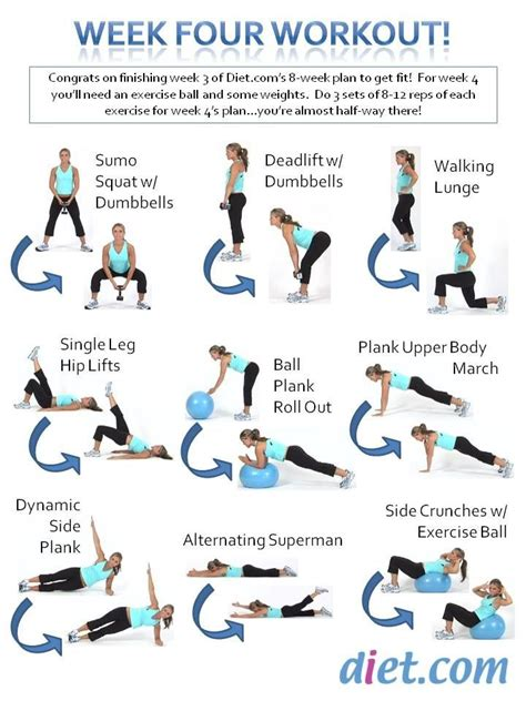 9 best images about 8 week fitness challenge on fitness exercises challenge week