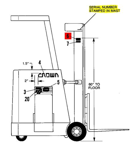 crown 20mt wiring diagram crown turret truck wiring