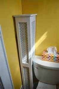 Garage Plans With Living Space in the little yellow house half bath radiator cover finished