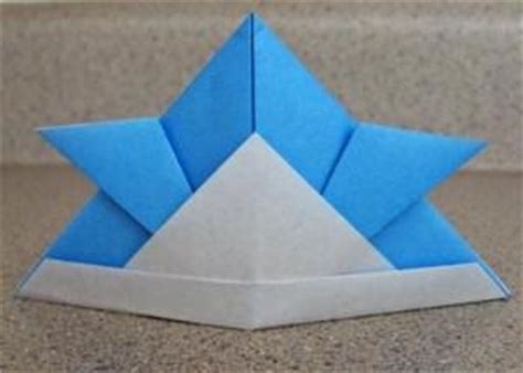 How To Make An Origami Samurai Helmet - origami samurai helmet lovetoknow