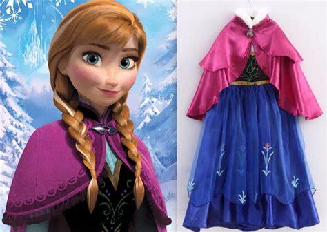 Elsa New 4 Grey new frozen princess dress up gown costume size 3 4 s elsa ebay