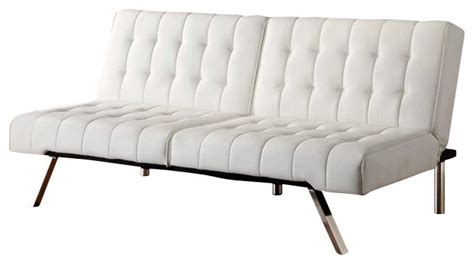 ameriwood dhp emily faux leather convertible futon in