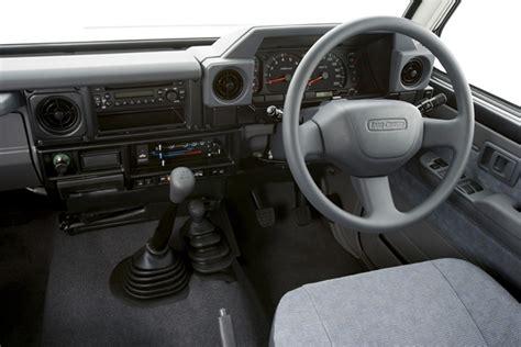Fj55 Interior Toyota Lc 70 Dual Cab Ute Review