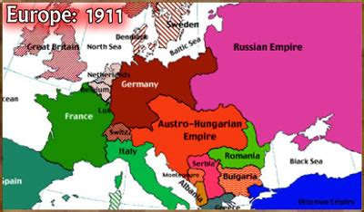 Maps: Map Of Europe Pre Wwi
