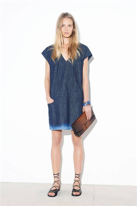 casual chambray denim dresses for summer