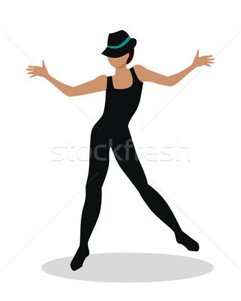 swing tap dance jazz dancer tap dance jitterbug swing lindy hop vector