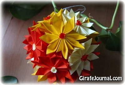 Origami Gerbera -