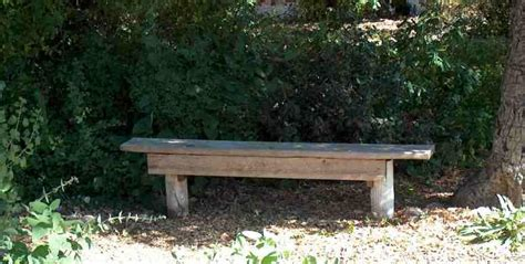 easy to make outdoor benches pdf diy build simple garden bench plans build a