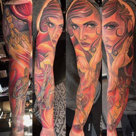 tattoo artist portfolio j michael portfolio black amethyst gallery