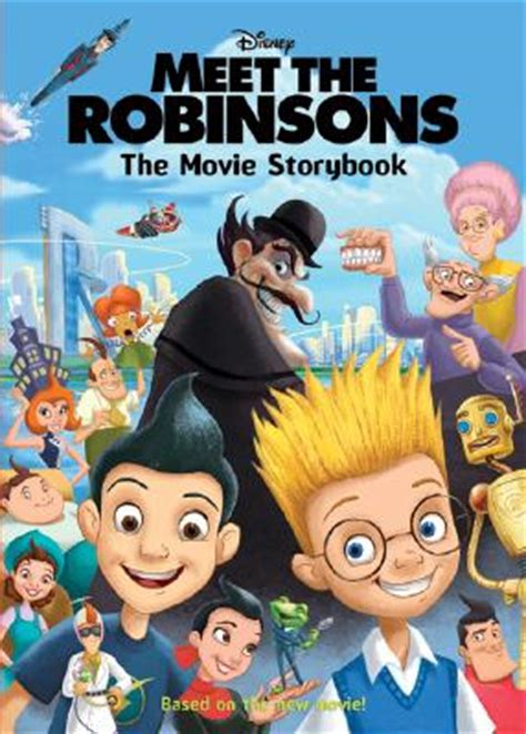 when we meet the is a books meet the robinsons the storybook hardcover