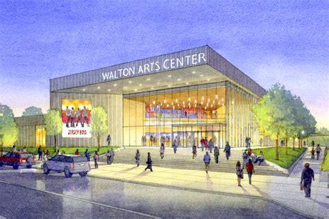 walton arts center expansion gets 1m donation arkansas