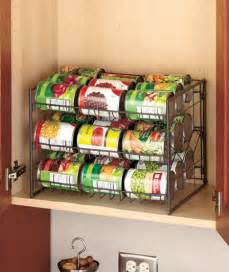 Can Rack Organizer by 27 Can Canned Goods Kitchen Cabinet Pantry Storage Rack