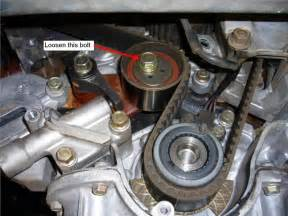Mitsubishi Magna Timing Belt Replacement How To Change The Timing Belt On The V6 With Pictures