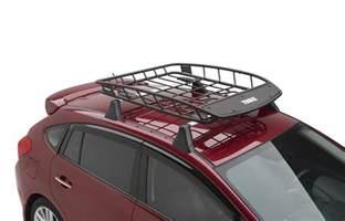 Rafferty Subaru Parts 2017 Subaru Forester Thule Heavy Duty Roof Cargo Basket