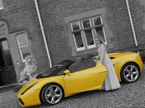 Lamborghini Prom Hire Chauffeured Wedding Sports Car Hire West Midlands